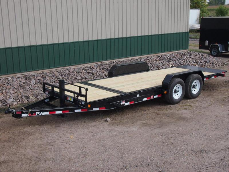 "2020 PJ 20'x6"" Channel Equipment Tilt Trailer"