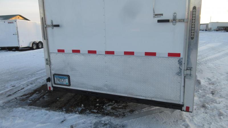 2015 Cargo Mate Eliminator 48' GN Enclosed Triple Axle Car Hauler Trailer