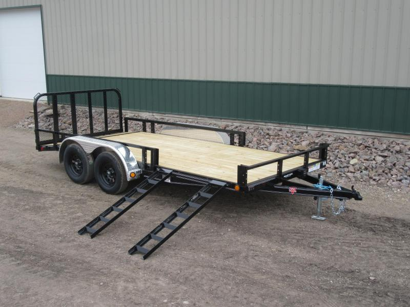 "2020 PJ 16' x 83"" Channel Utility Trailer"