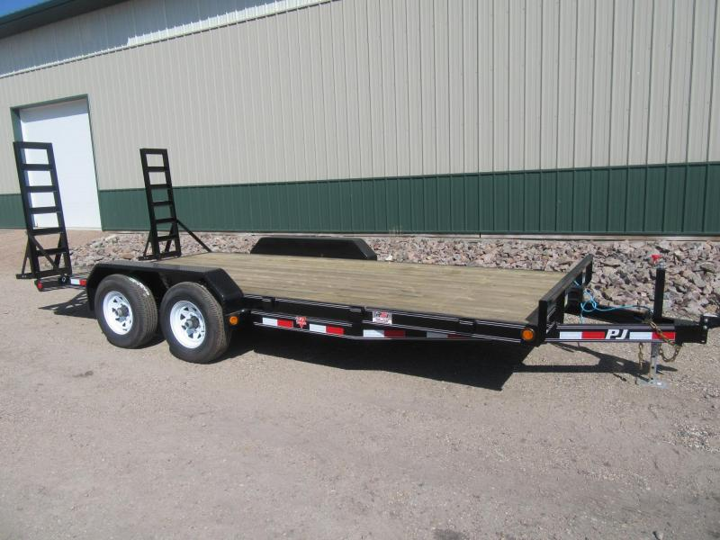 "2019 PJ 16'x5"" Channel Equipment Trailer"