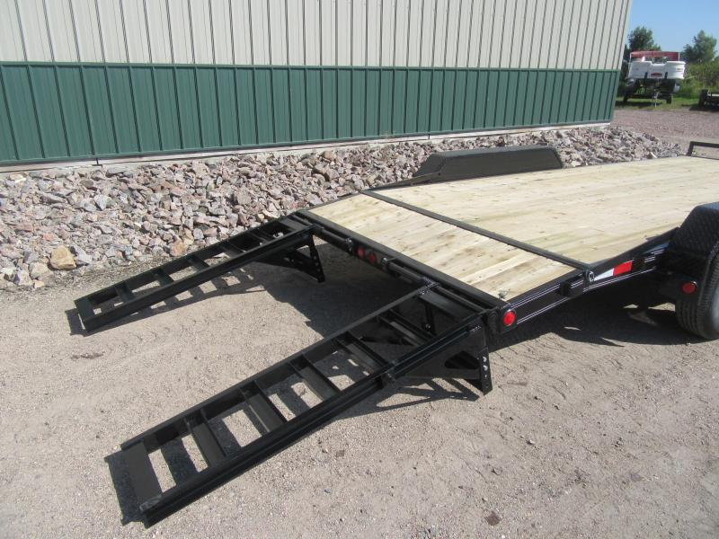 "2020 PJ 18'x5"" Channel Equipment Trailer"
