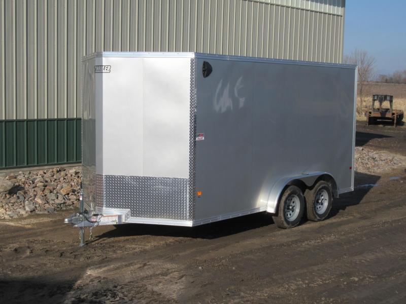 2020 7.5'x14' EZ Hauler Aluminum Enclosed Trailer