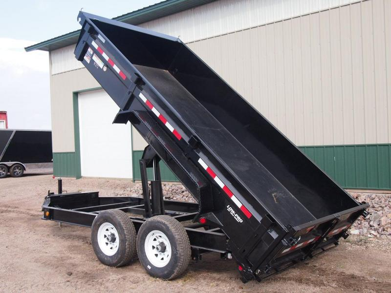 "2020 PJ 14' x 83"" 14k Low-Pro Dump Trailer w/Fork Holder"