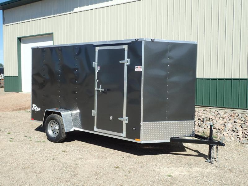 2017 6'x12' Stealth Titan Enclosed Trailer