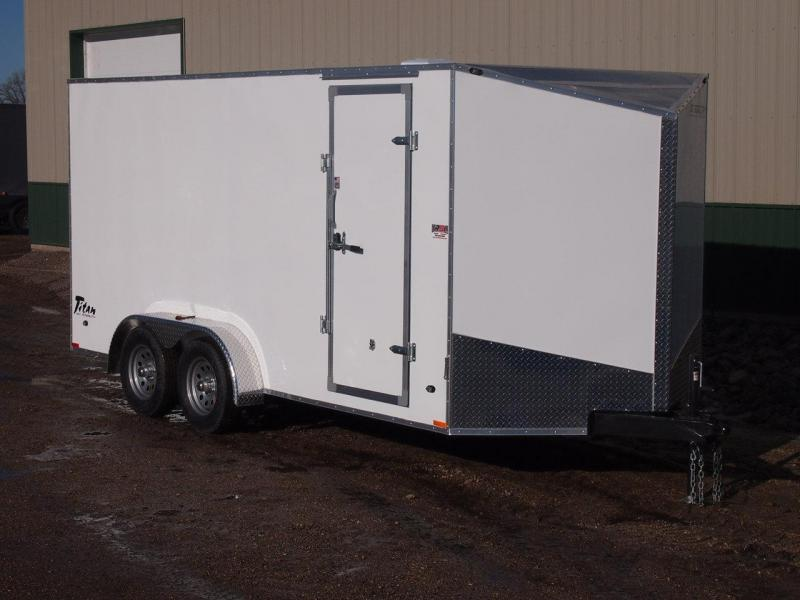2017 7'x16'  Stealth Titan SE Enclosed Trailer