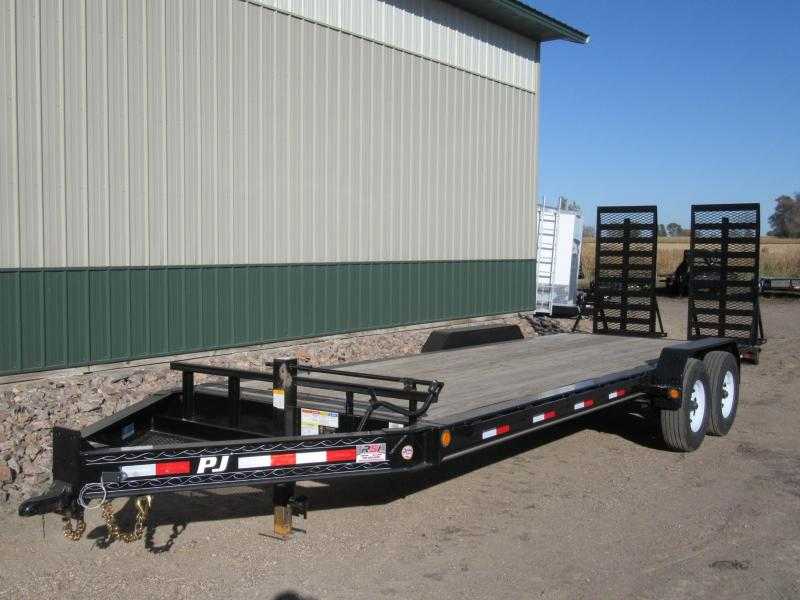 2019 22' PJ 8 inch Pro-Beam Equipment Trailer