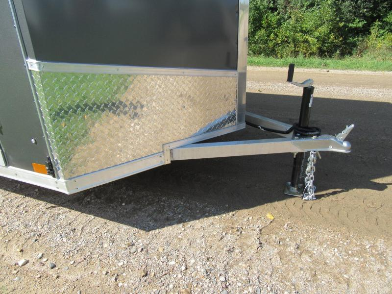 2020 Discovery 6'x12' Aluminum Enclosed Trailer