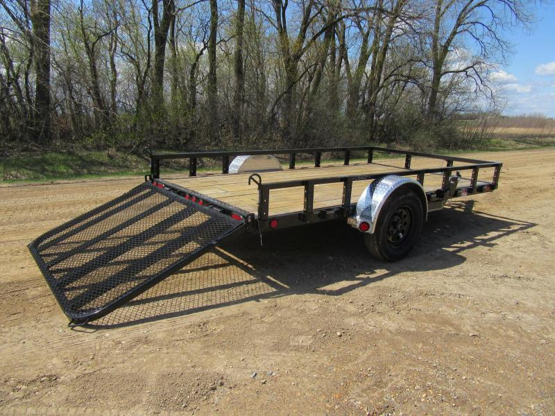 "2020 PJ 12'x77"" Channel Utility Trailer"