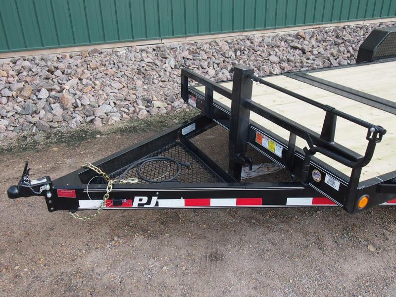 """2020 PJ Trailers 20'x6"""" Channel Equipment Tilt Equipment Trailer"""