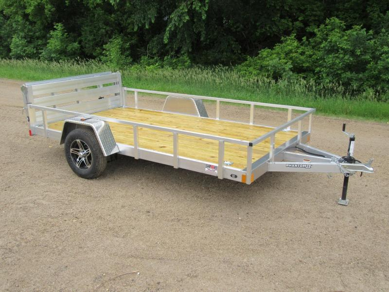2020 Stealth Trailers 6.5'x12' Phantom II Utility Trailer