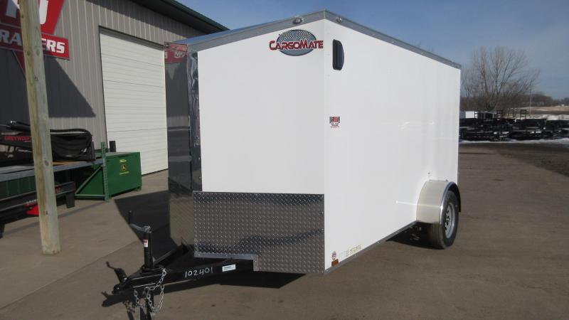 2020 6'x12' Cargo Mate Enclosed Trailer