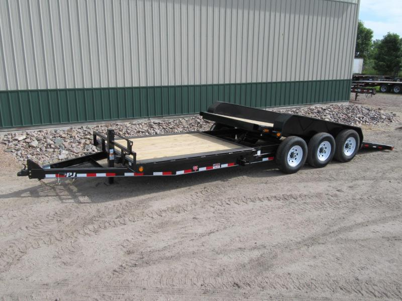 "2020 PJ 24' HD 6"" Channel Tilt Equipment Trailer"