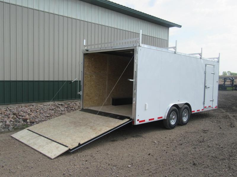 2019 8.5x20 Discovery Challenger Contractor Enclosed Trailer