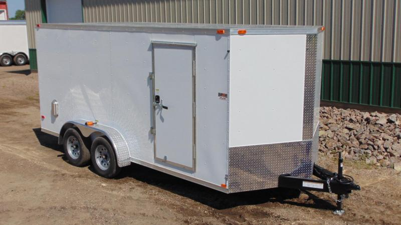 2016 7'x16' ABC Enclosed Trailer
