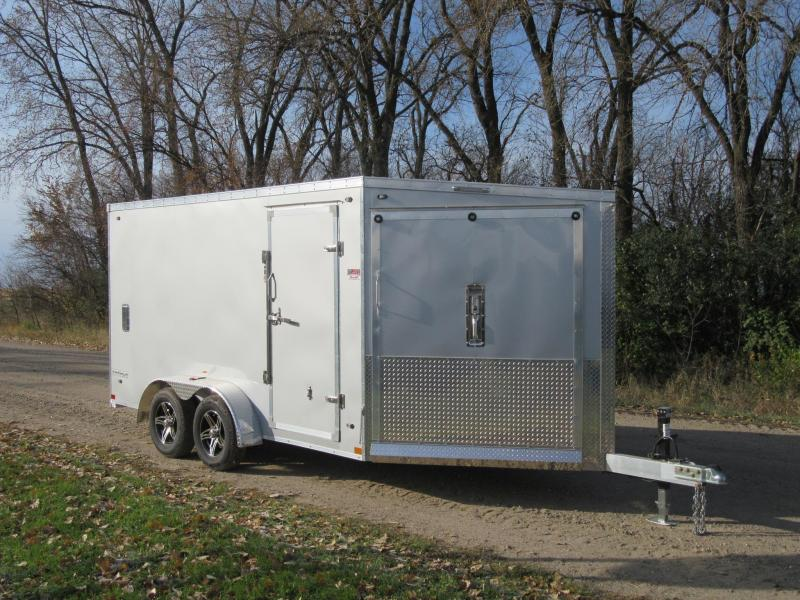 2020 7'x19' Stealth Predator Aluminum Enclosed Snowmobile Trailer