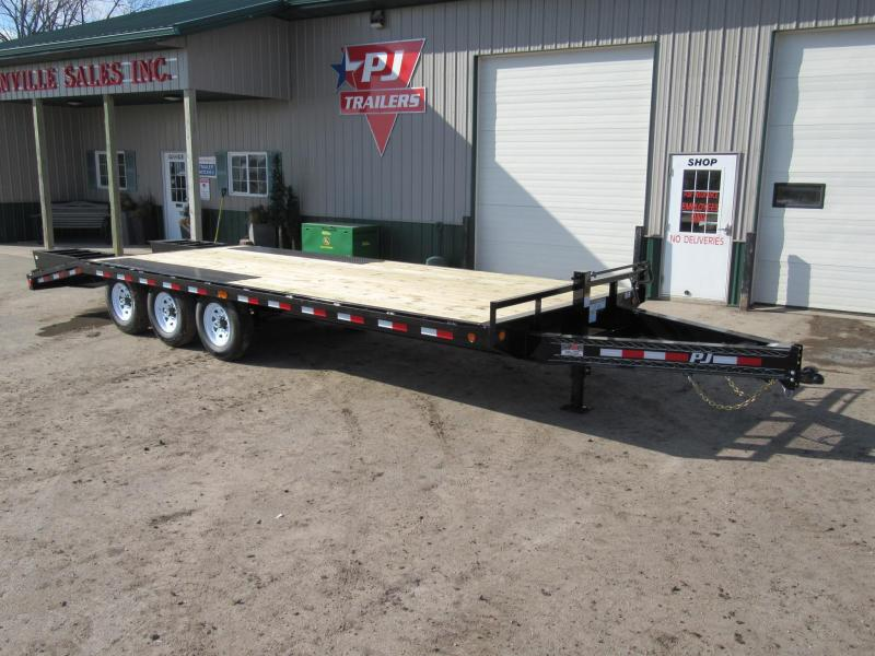 "2020 PJ Trailers 8"" I-Beam Deckover Flatbed Trailer"