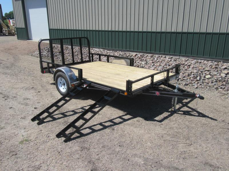 "2020 PJ Trailers 12'x82"" Channel Utility Utility Trailer"