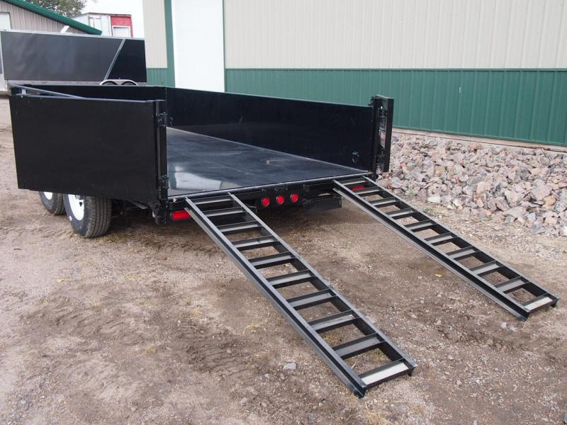 "2020 PJ Trailers 14' x 83"" Low Pro Dump Trailer"