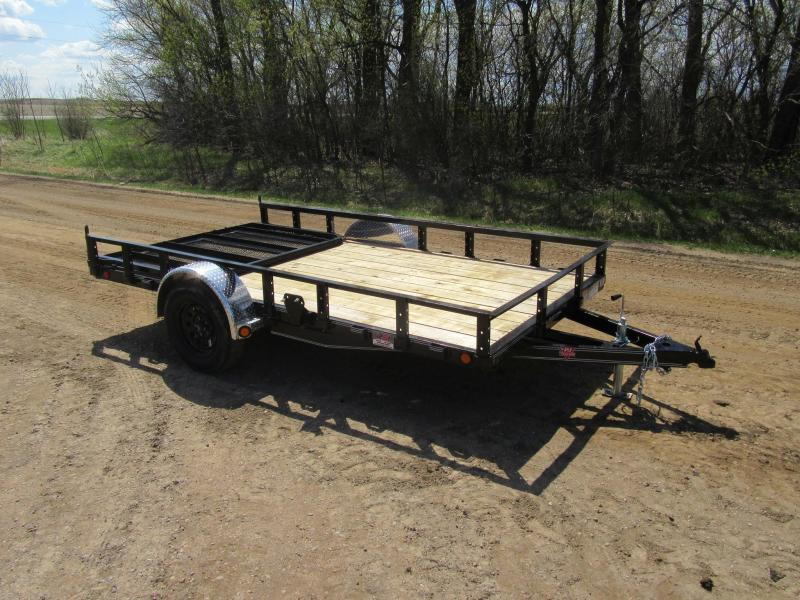 "2020 PJ 12'x83"" Channel Utility Trailer"