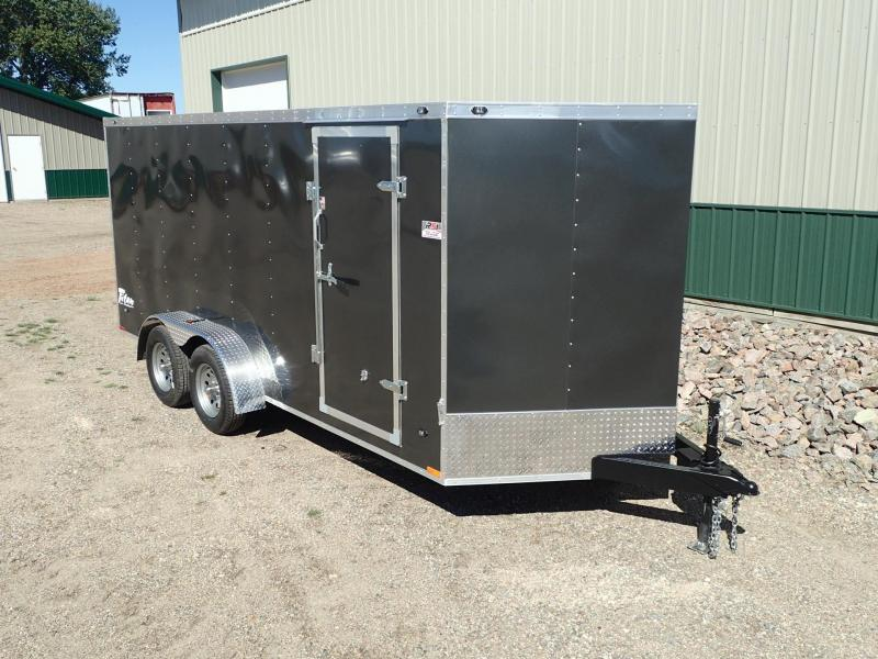 2017 7'x16' Stealth Titan Enclosed Trailer