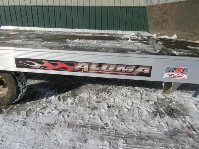 2015 Aluma 12' 2-Place Snowmobile Trailer