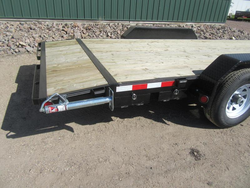 "2020 PJ 20'x5"" Channel Equipment Trailer"