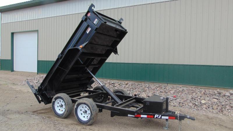 """2020 PJ 10'x60"""" Tandem Dump Trailer"""