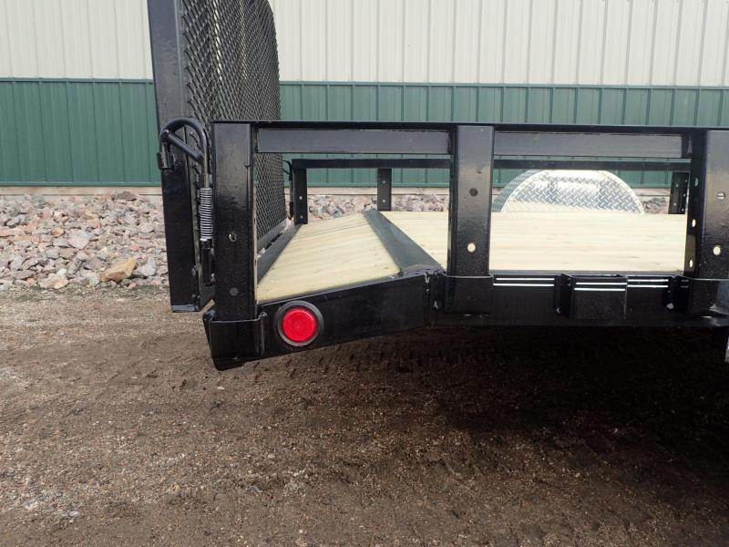 "2020 PJ Trailers 12'x77"" Channel Utility Utility Trailer"