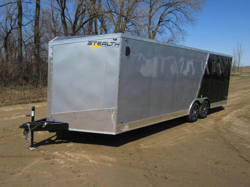 2020 8.5'x24' Stealth Titan Enclosed Carhauler
