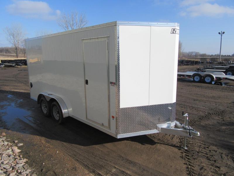 2020 7.5'x16' EZ Hauler Aluminum Enclosed Trailer