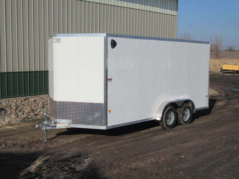 2020 7.5'x16' EZ Hauler Aluminum Enclosed Trailer
