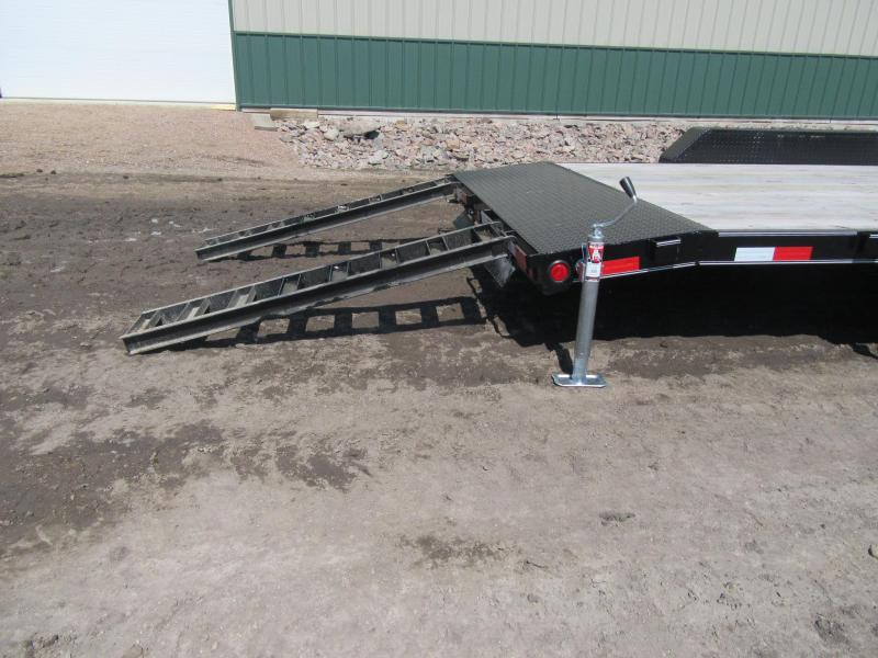 "2020 PJ 20'x5"" 10k Channel Equipment Trailer"