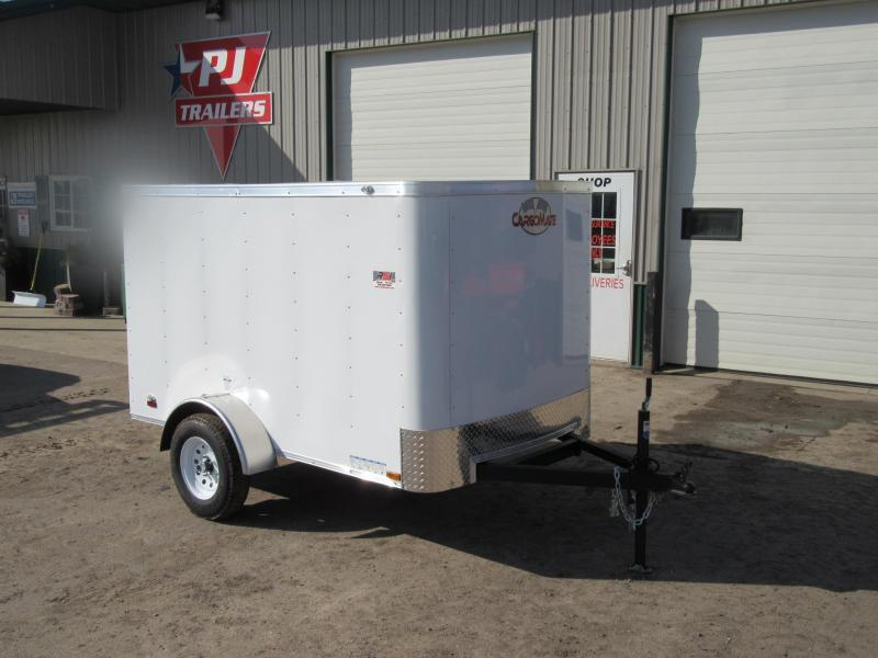 2019 5'x8' Cargo Mate Enclosed Trailer