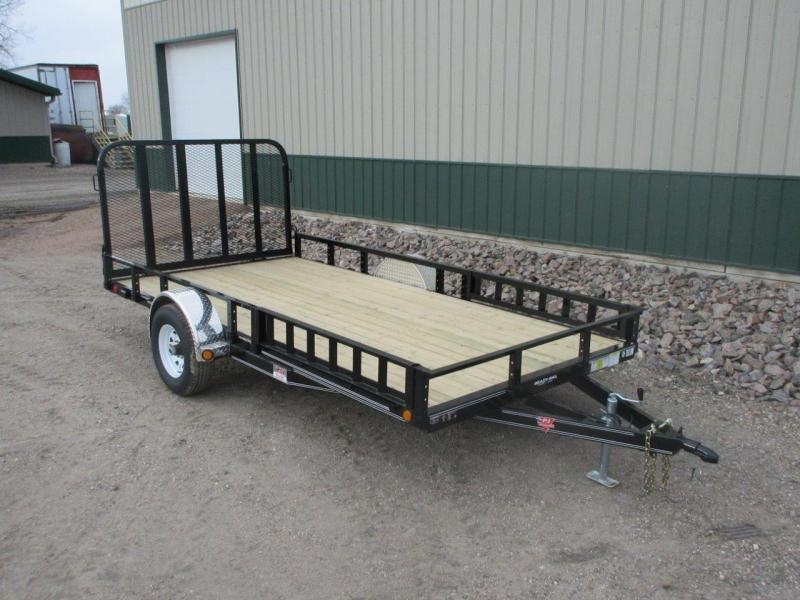 "2020 PJ Trailers 83"" Wide - 4"" Channel Utility Trailer"