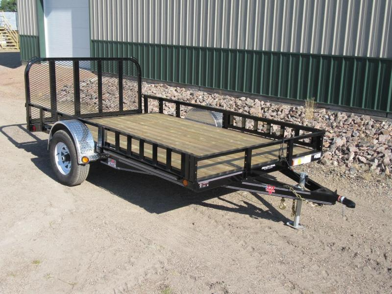 "2019 PJ 14'x83"" Single Axle Channel Utility Trailer"