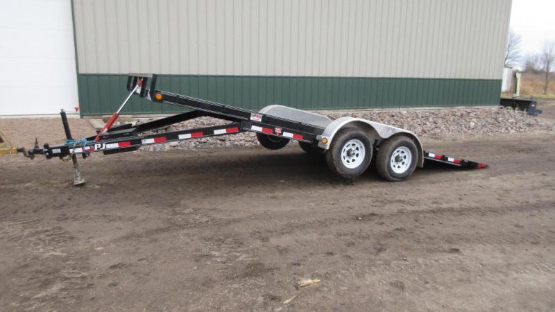 2019 PJ 20' Quick Tilt Equipment Trailer