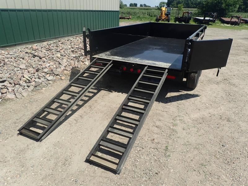 "2020 PJ 12' x 72"" Medium Duty Dump Trailer"