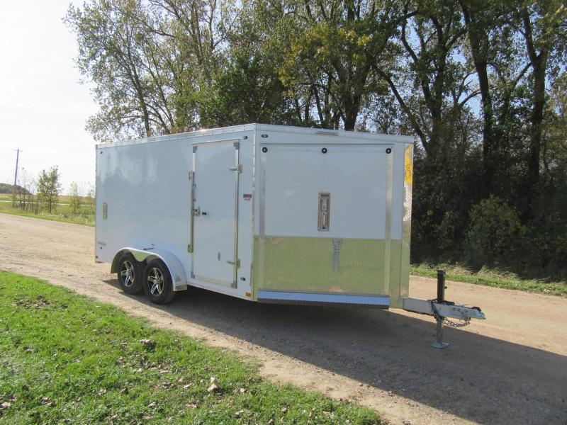 2020 Stealth Trailers Predator Aluminum Snow Trailer Snowmobile Trailer