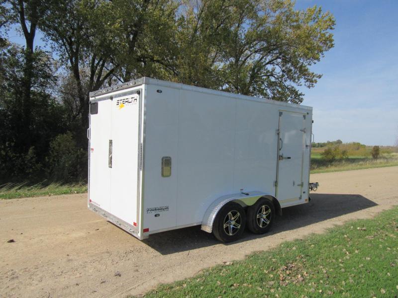 2020 7'x19' Stealth Predator Aluminum Enclosed Snowmobile Trailer