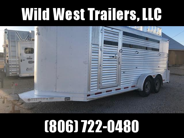 2013 Platinum Coach 4 Horse Trailer