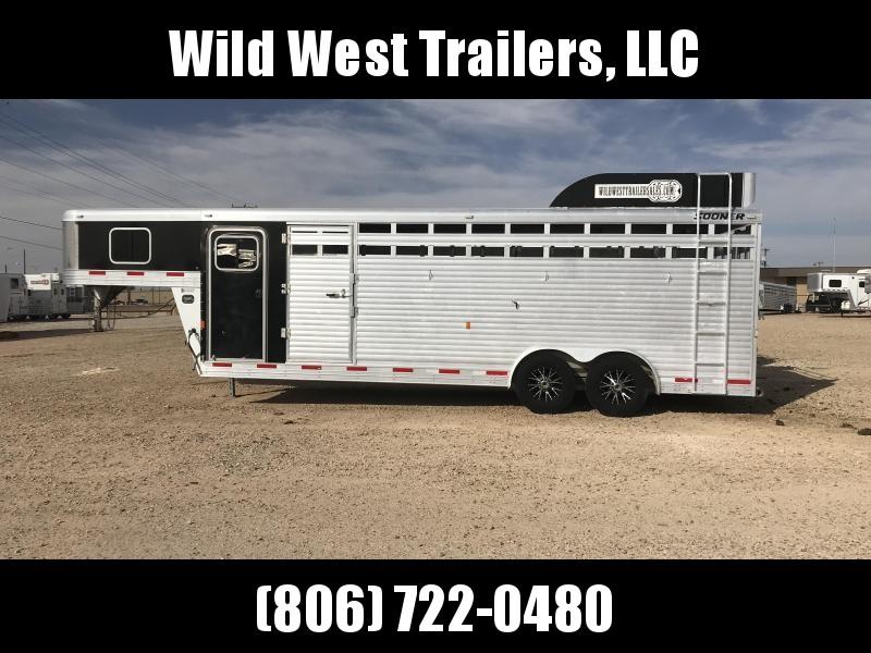 2016 Sooner Stock Combo Livestock Trailer