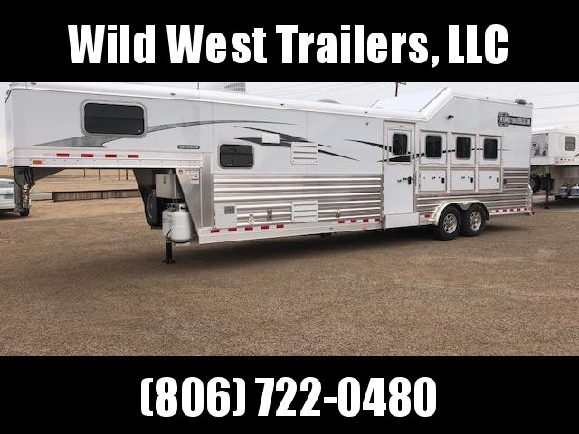 2018 4-Star Trailers 4 Horse - 12ft SW Trailer