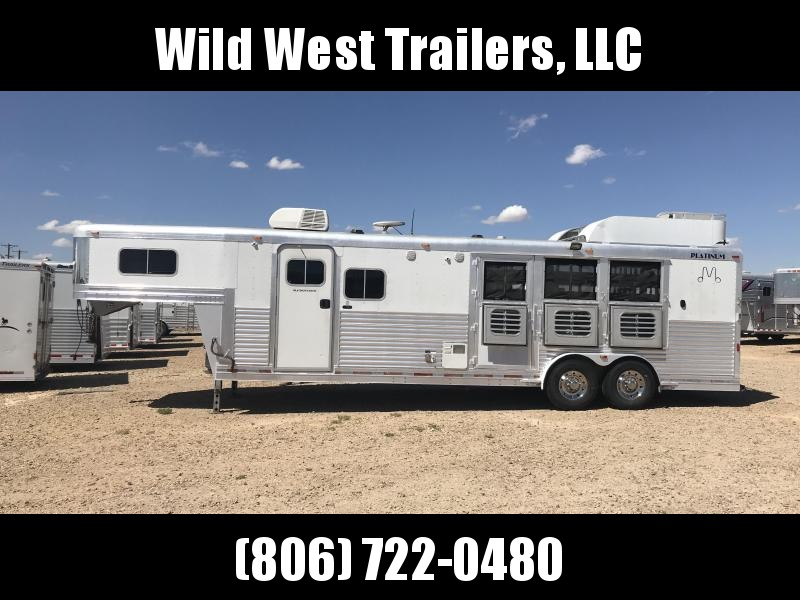 2004 Platinum Coach 3 Horse Trailer