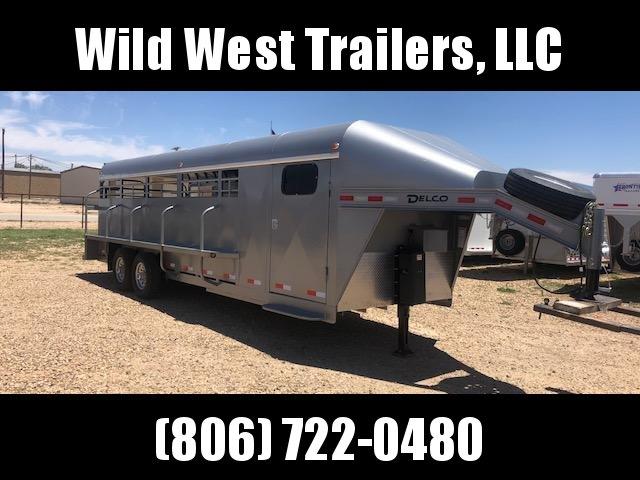 2018 Delco 24ft Premium Livestock Trailer