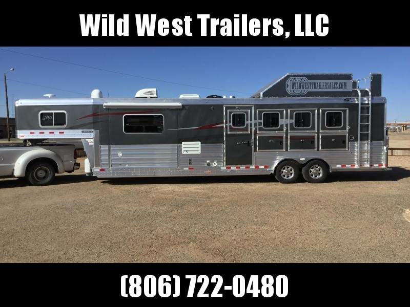 "2018 4-Star Trailers 4 Horse - 13'2"" SW Horse Trailer"