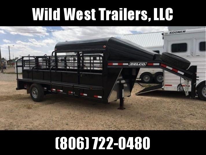 2017 Delco Trailers 5 X 16 Livestock Trailer