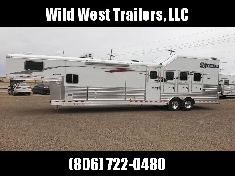 "2018 4-Star Trailers 4H - 15'6"" SW Horse Trailer"