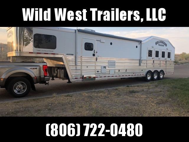 2015 Bloomer  4 Horse Trailer