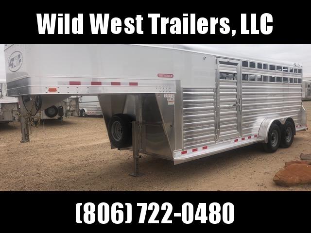 2018 4-Star Trailers 20ft Livestock Trailer