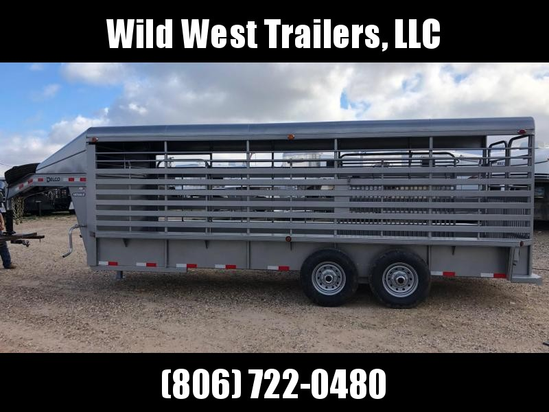 2018 Delco 20FT Livestock Trailer
